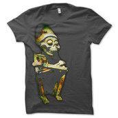 ENTOMBED - T-SHIRT, TO RIDE - STATUE (CHARCOAL)