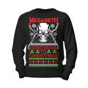 MEGADETH - SWEATSHIRT, COUNTDOWN TO CHRISTMAS