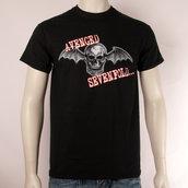 AVENGED SEVENFOLD - T-SHIRT, BAT SKULL GLOW
