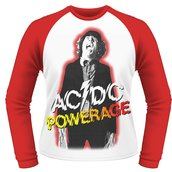 AC/DC - LONG SLEEVE BASEBALL, POWERAGE