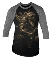 BLACK LABEL SOCIETY - 3/4 SLEEVE BASEBALL, FORGED IN IRON
