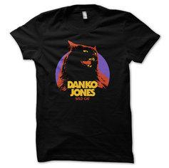 DANKO JONES - T-SHIRT, WILD CAT
