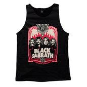 BLACK SABBATH - TANK TOP, RED FLAMES