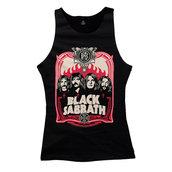 BLACK SABBATH - LADY TOP, RED FLAMES