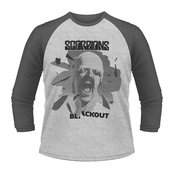SCORPIONS - 3/4 SLEEVE BASEBALL, BLACK OUT