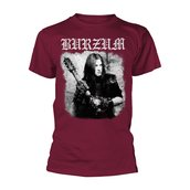 BURZUM - T-SHIRT, ANTHOLOGY 2018 (MAROON)