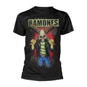 RAMONES, THE - T-SHIRT, GABBA GABBA HEY PINHEAD