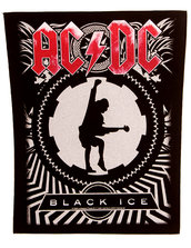 BACK PATCH - AC/DC, BLACK ICE